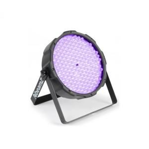 Beamz FlatPAR, 186 x 10 mm, PAR reflektor, UV LED, DMX