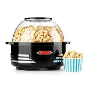 Klarstein Couchpotato, čierny, popcornovač, elektrické zariadenie na prípravu popcornu
