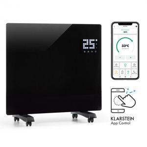 Klarstein Bornholm Single Smart, konvekčný ohrievač, 1000 W, ovládanie cez aplikáciu, čierny