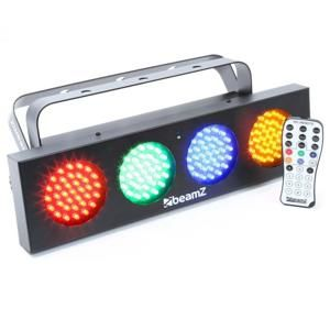 Beamz DJ Bank, 140 RGBA LED diód