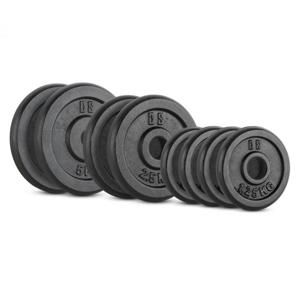 Capital Sports IPB 20 kg Set, sada závaží na činky, 4 x 1,25 kg + 2 x 2,5 kg + 2 x 5 kg, 30 mm