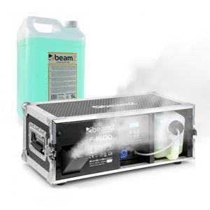 Beamz F1600, dymostroj, vrátane hmlovej kvapaliny, 1600W, 350m³, DMX, Master/Slave